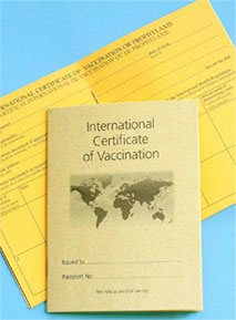 Yellow Fever Certificate Book